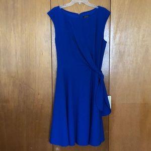 Tahari-Arthur S. Levine Royal Blue Dress
